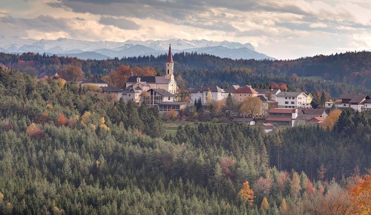 Open-Air Kino in Maria Schmolln. (© Innviertel-Tourismus / Andreas Mühlleitner)