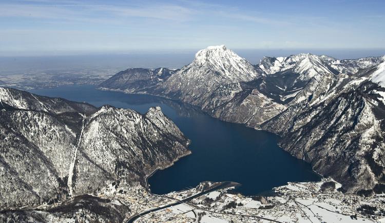 Ebensee aus der Luft (© Ferienregion Traunsee)