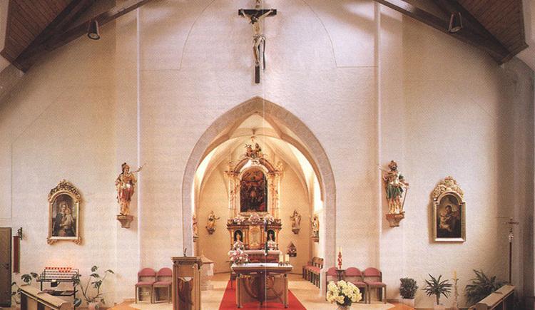 Kirchenschiff. (© Verschönerungsverein Nußdorf)