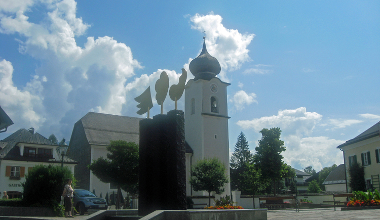 Pfarrkirche in Strobl am Wolfgangsee