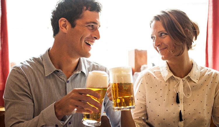 Biergenuss in der BierWeltRegion (© OÖ Tourismus/Erber)
