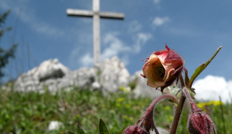 Cross on the summit of the Lidaun (© Tourismusverband Faistenau)