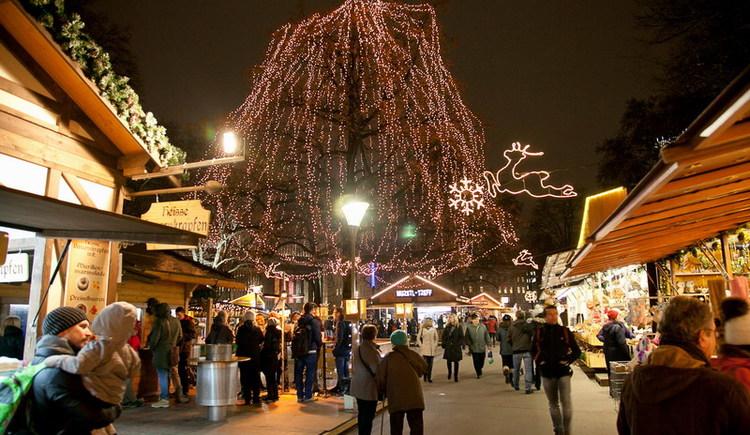 Weihnachtsmarkt am Volksgarten (© Cisar 2013)