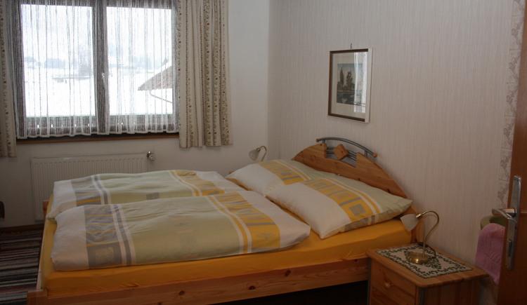Schlafzimmer der Wohnung 1