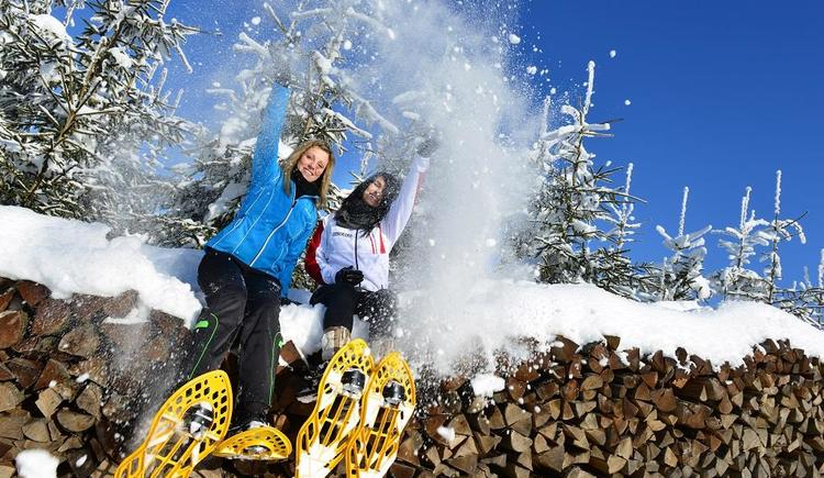 Schneeschuhwandern (© Oberösterreich Tourismus GmbH | Andreas Röbl)
