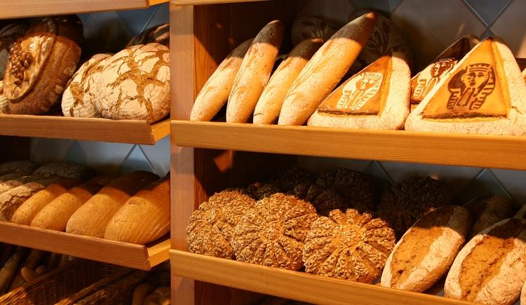 Brotpalette von der Bäckerei Necker. (© Erich Necker)