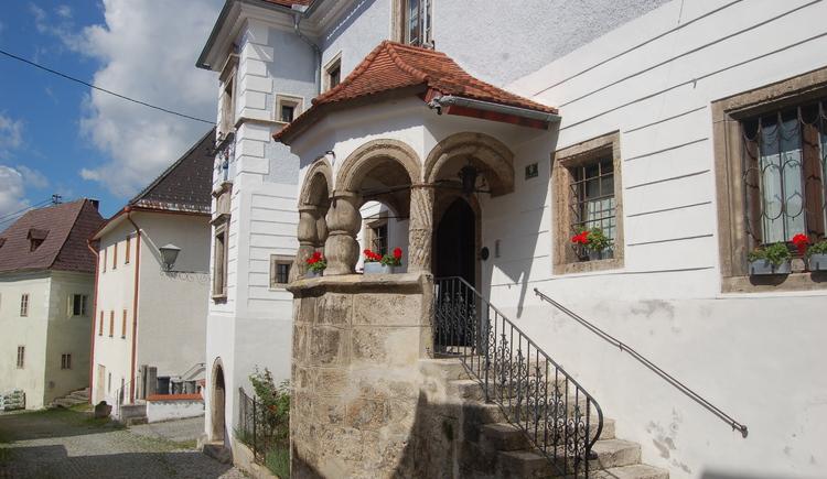 Marktrichterhaus in der historischen Herrengasse. (© Marktgemeinde Kremsmüsnter)