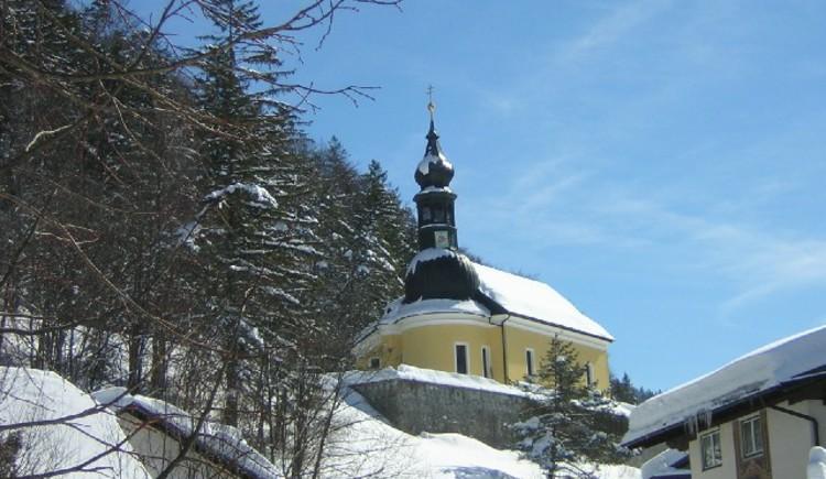 Pfarrkirche zum Hl. Florian. (© Tourismusverbnd Ebenau)
