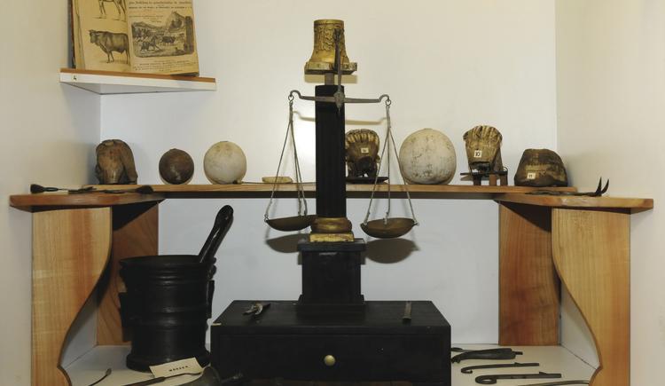 Ausstattung eines Apothekers (© Heimatverein Obernberg am Inn)