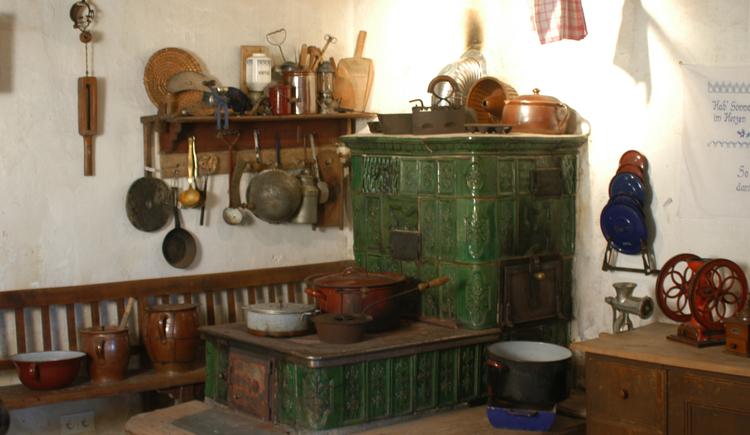 Alte Bauernstube im Heimatmuseum 'Lipphaus' in Strobl