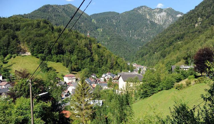 Ausblick vom Haus (© Haus SONNSTEIN zu EBENSEE am Traunsee)
