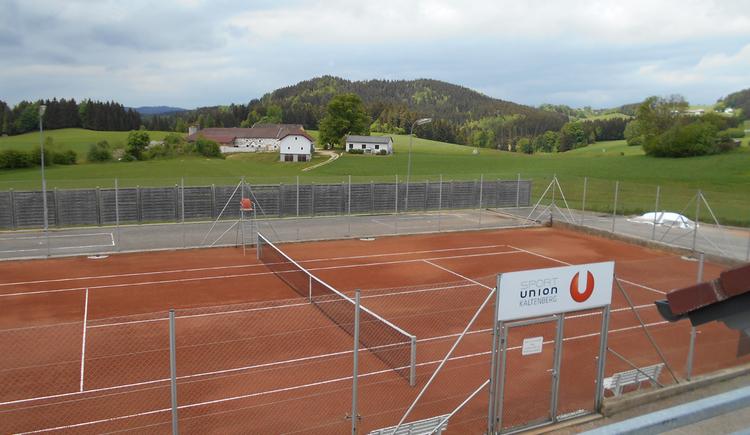 Tennisplatz Kaltenberg. (© Gemeinde Kaltenberg)