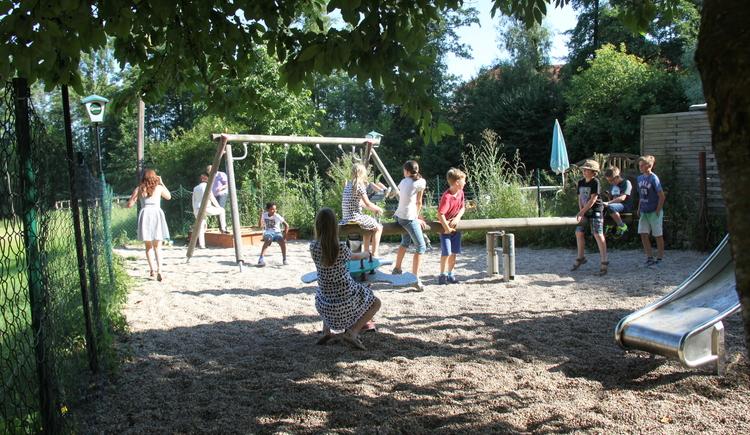 Spielplatz. (© Wia z'haus Lehner)