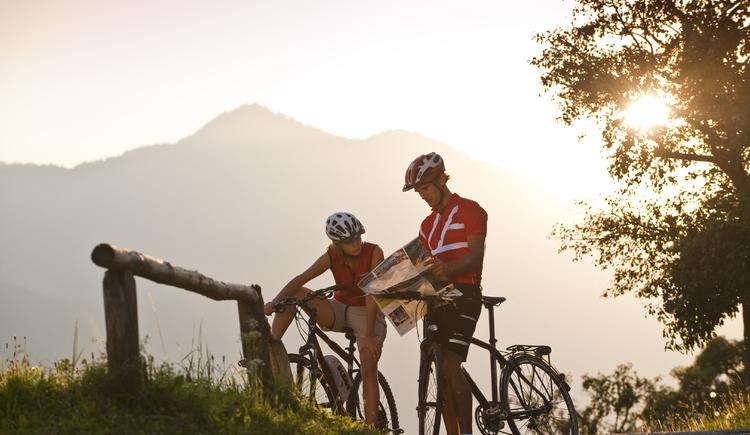 Radfahren im Salzkammergut. (© OÖ Tourismus/Erber)