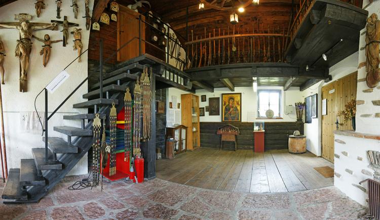 Foyer Bauernmuseum Reinthaler Osternach (© Verbund Oö. Museen)