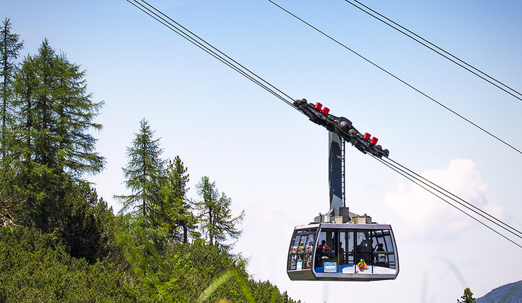 view of the cable car. (© Dachstein Tourismus AG/Manfred Schöpf)