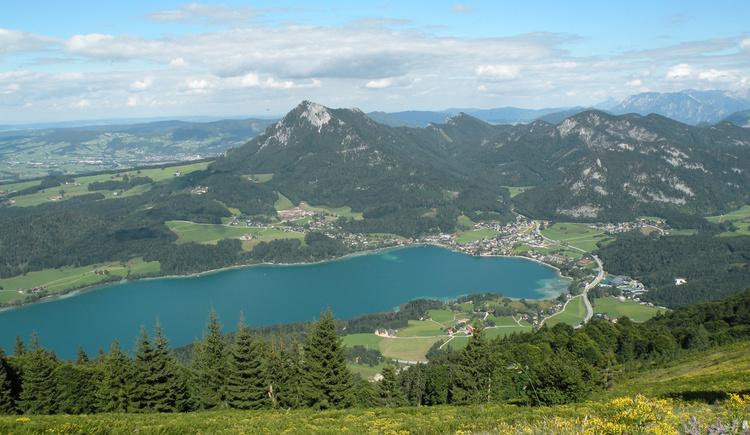Aussicht zum Fuschlsee (© Tourismusverband Faistenau)
