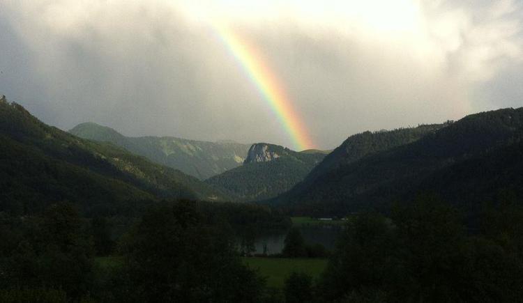 Regenbogen übern Feichtenstein