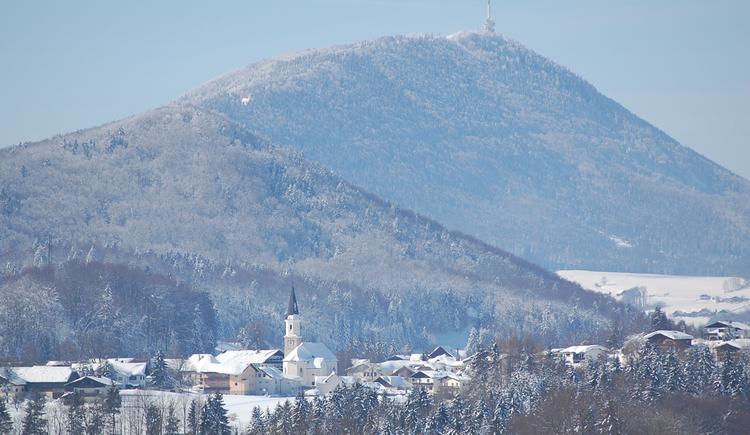Hof bei Salzburg, Winteransicht. (© TVB Hof)