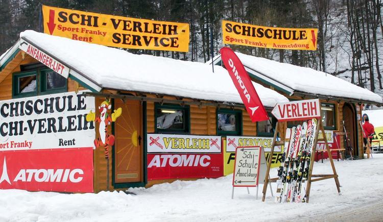 Skischule, SKiverleih und -service