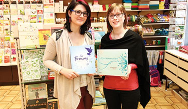 Mitarbeiterinnen bei FRCK Buch&Papier in Perg