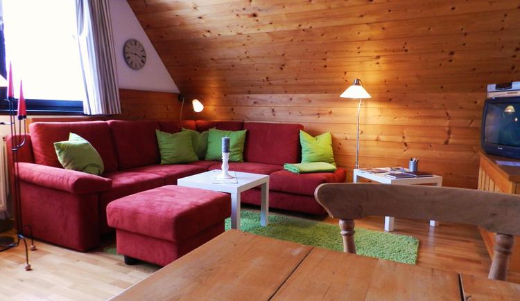 Wohnzimmer. (© Ferienwohnung Carl)