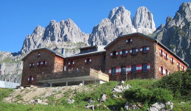 Hofpürglhütte mit den Bischofsmützen