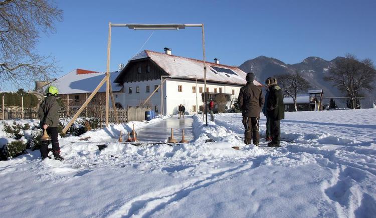 Eisstockschießen (© Bammer im Herndlberg)