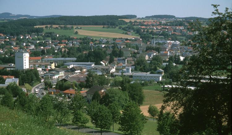 Gallneukirchen Ortsaufnahme. (© TTG Tourismus Technologie)