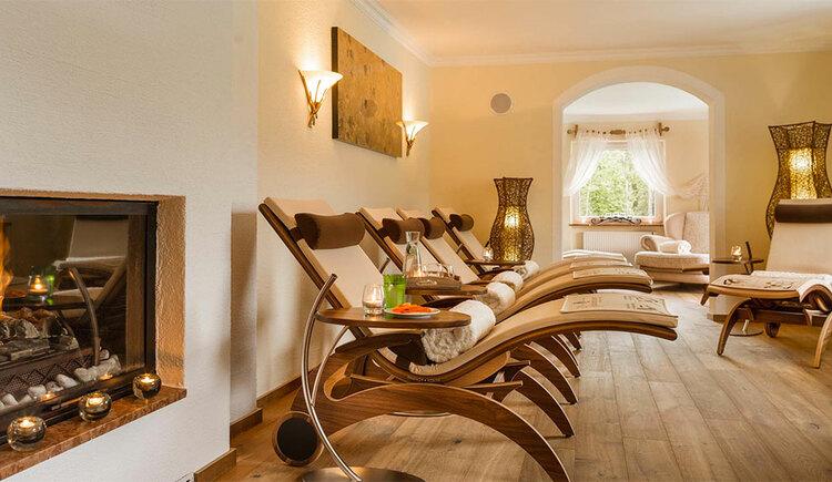 Relaxation room in the wellness area. (© Sperr-Lehrl)