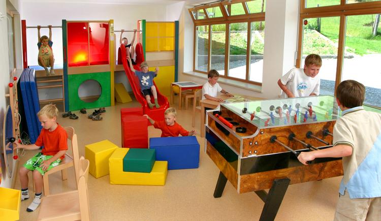 Spielzimmer im Gasthof Kleefeld