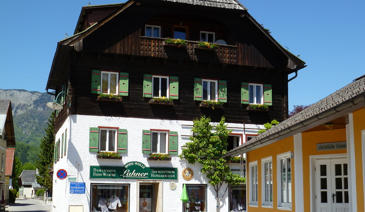 The Shop Wolle Lahner offers a big amount of Dirndln and traditional clothes.