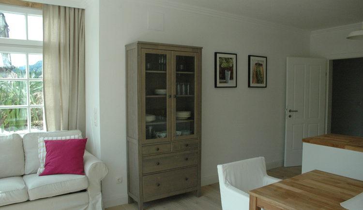 Landhaus Roidergütl - Familie Laimer: Wohn-/Esszimmer Apartment 1
