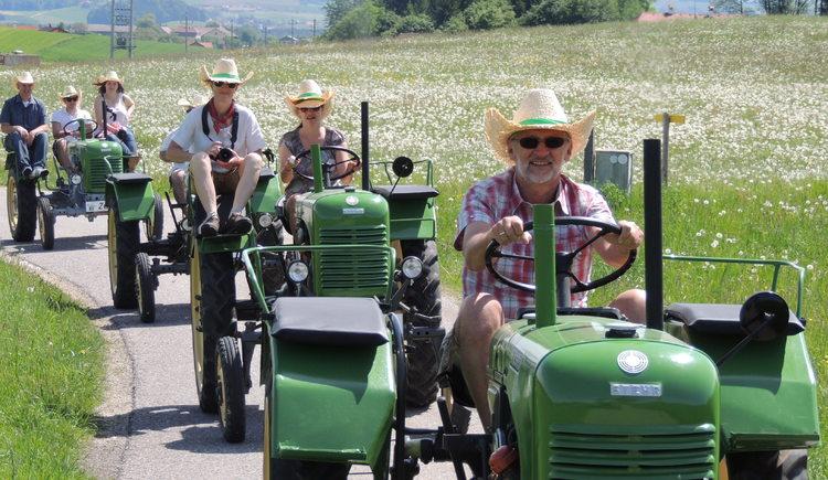Traktor Roas. (© TV-Franking Andrea Bruckmoser)