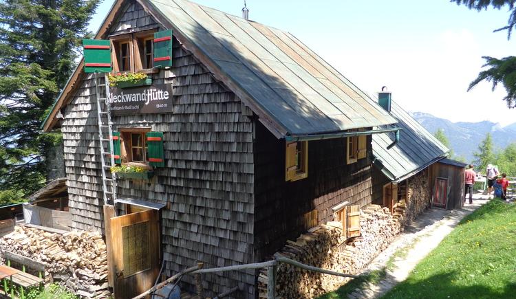 Bleckwandhütte. (© WTG)