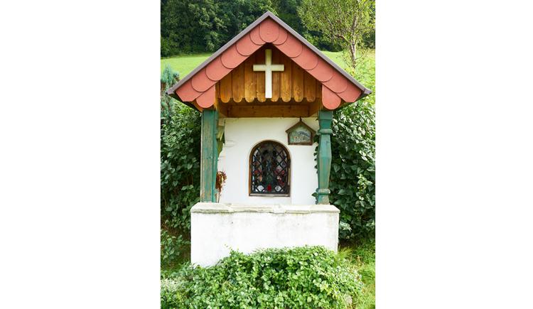 Blick auf die Kapelle