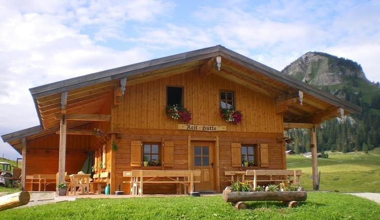 Reithütte Familie Mösenbichler Hintersee Hütte 3 (© Familie Mösenbichler)