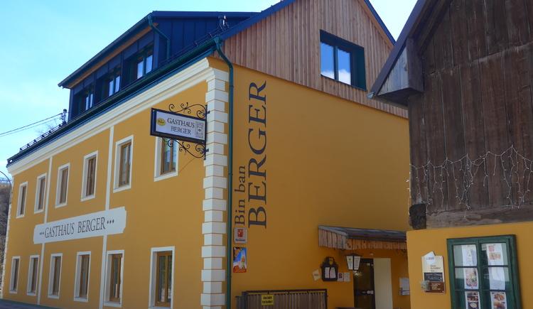 Gasthaus Berger - Weyer (© Familie Berger)