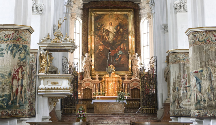 Stiftskirche. (© Stift Kremsmünster)