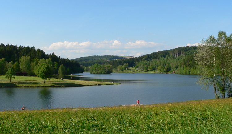 Rannabadesee im Sommer (© TV Neustift)