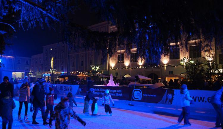 Eislaufplatz 2018 (© TSE Enns GmbH)