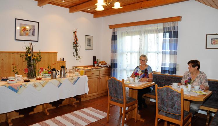 Schießl's Gästehof Frühstücksraum