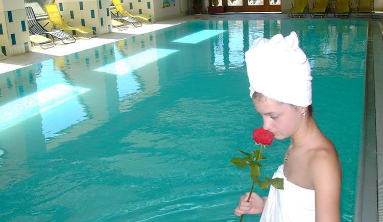 Hallenbad der Grander Wellness Oase (© Hotel Alte Post Faistenau)