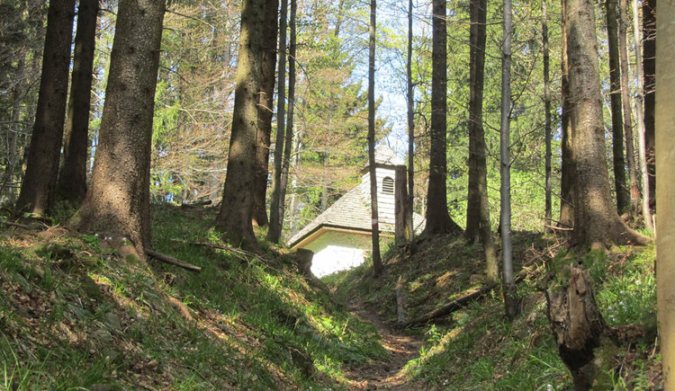 Wanderweg zur Radstattkapelle. (© Tourismusverband Mondseeland)