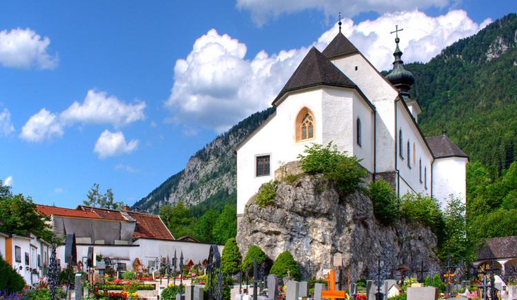 Friedhofskirche St. Leonhard (© TVB Pyhrn-Priel/Sulzbacher)