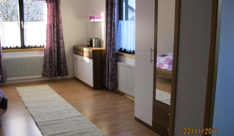 2011 komplett und neu eingerichtet, die Ferienwohnung Musler im 1. Stock