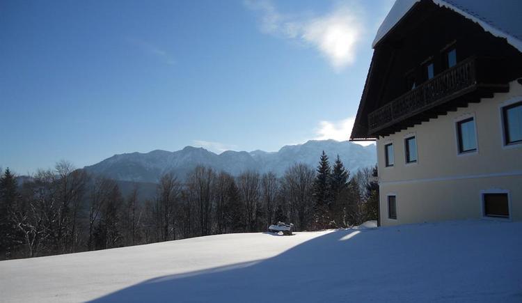 Ostansicht Winter (© Haus Sagkreutl)