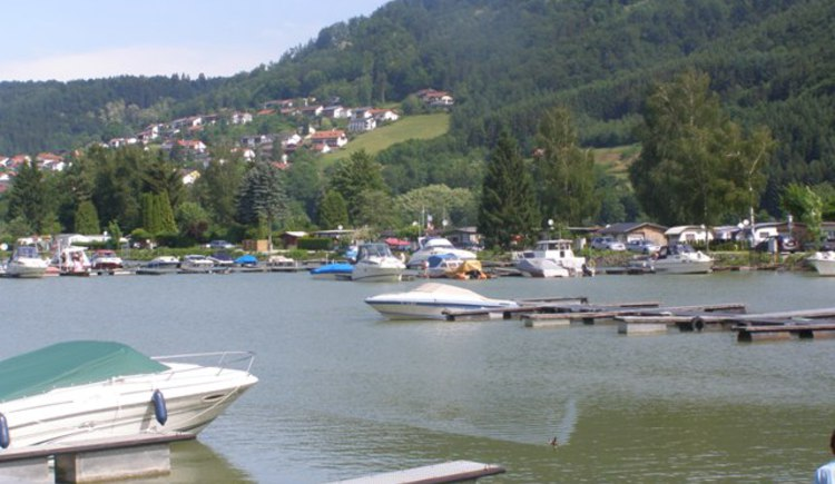 Jachthafen Kasten. (© Gemeinde Vichtenstein)