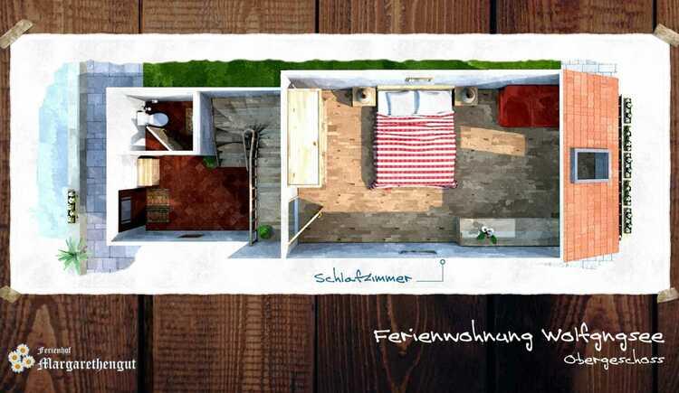 Ferienwohnung Wolfgangsee. (© seekda)