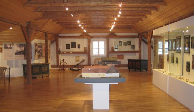 Ausstellungsraum III (© Gemeinde Sandl)